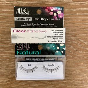 Ardell Lashes and Glue